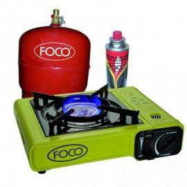 Anafe Portatil Foco Mod 22667/1 Dual A Cartucho