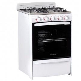 Cocina Patrick 56cm 4 Hornallas Horno Encendido Elect. Cps6656Bvs
