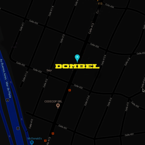 Mapa DOMBEL