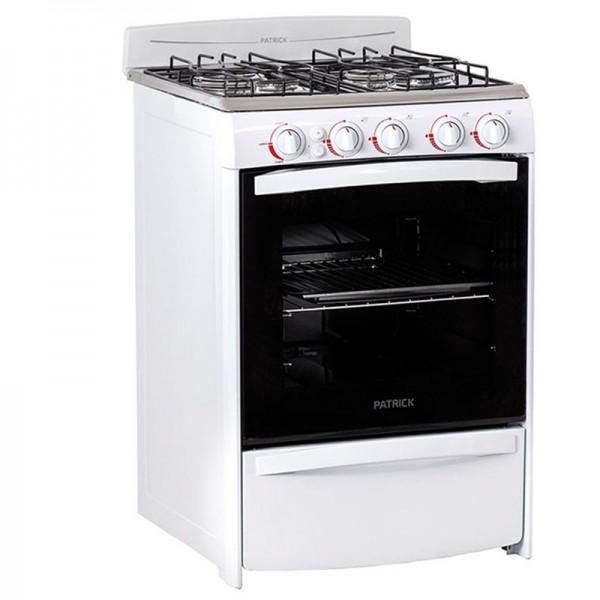 Cocina Horno | Cocina Patrick 56cm 4 Hornallas Horno Encendido Elect Cps6656bvs