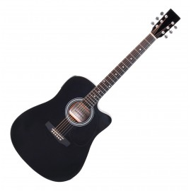 Guitarra Acustica Hidden Con Funda